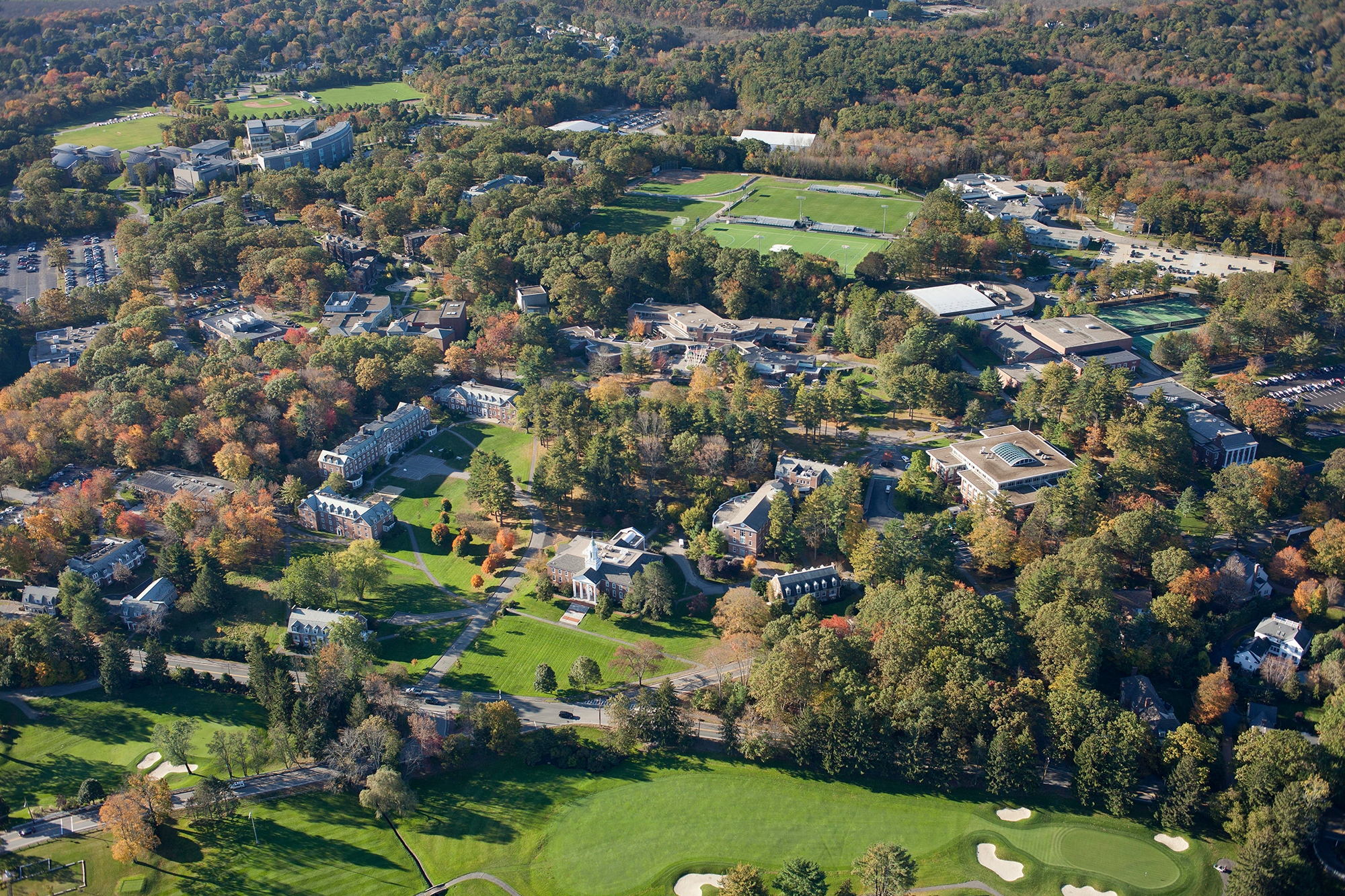 HEADER Babson College Aerial View