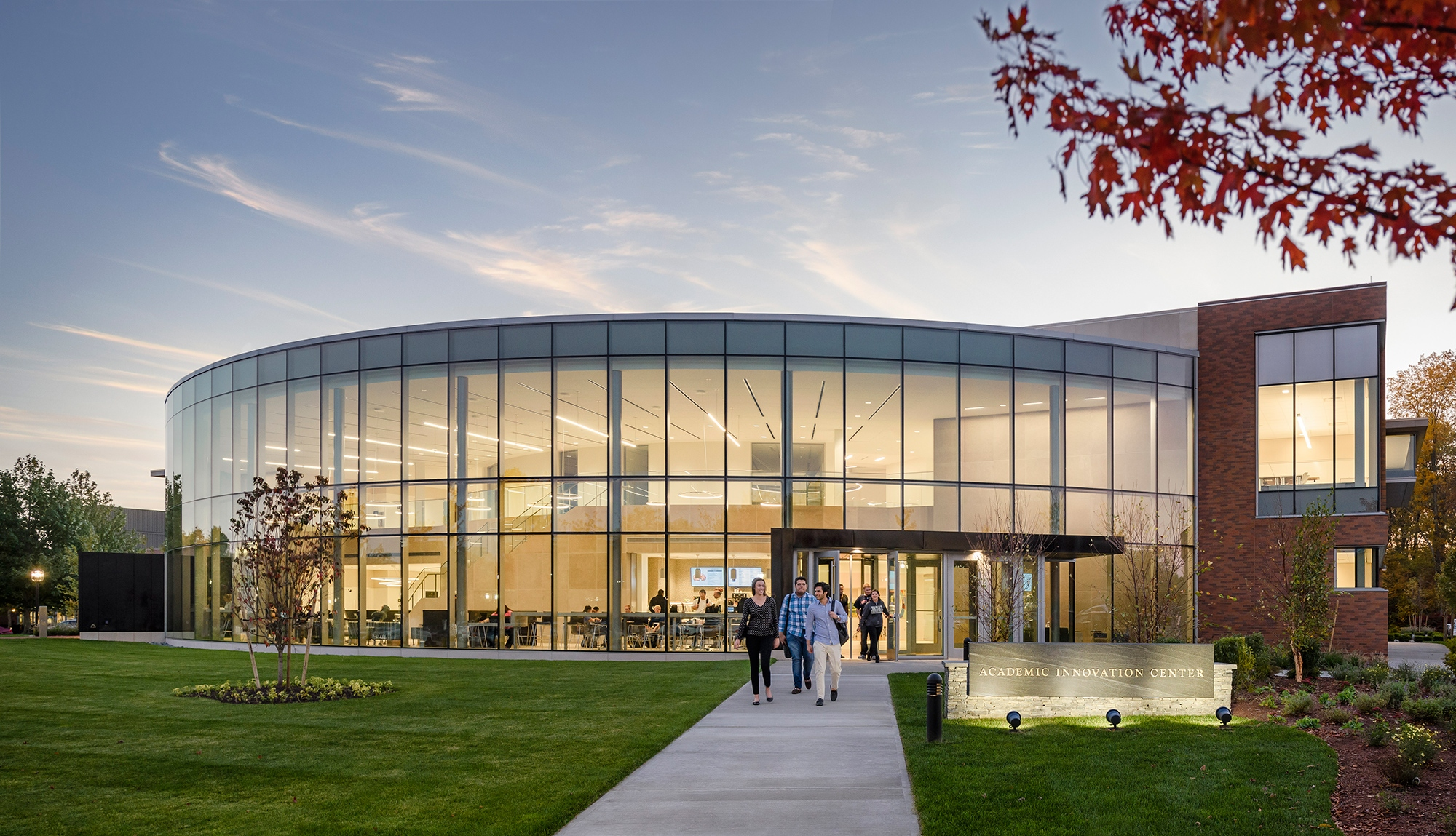 HEADER Bryant University Academic Innovation Building